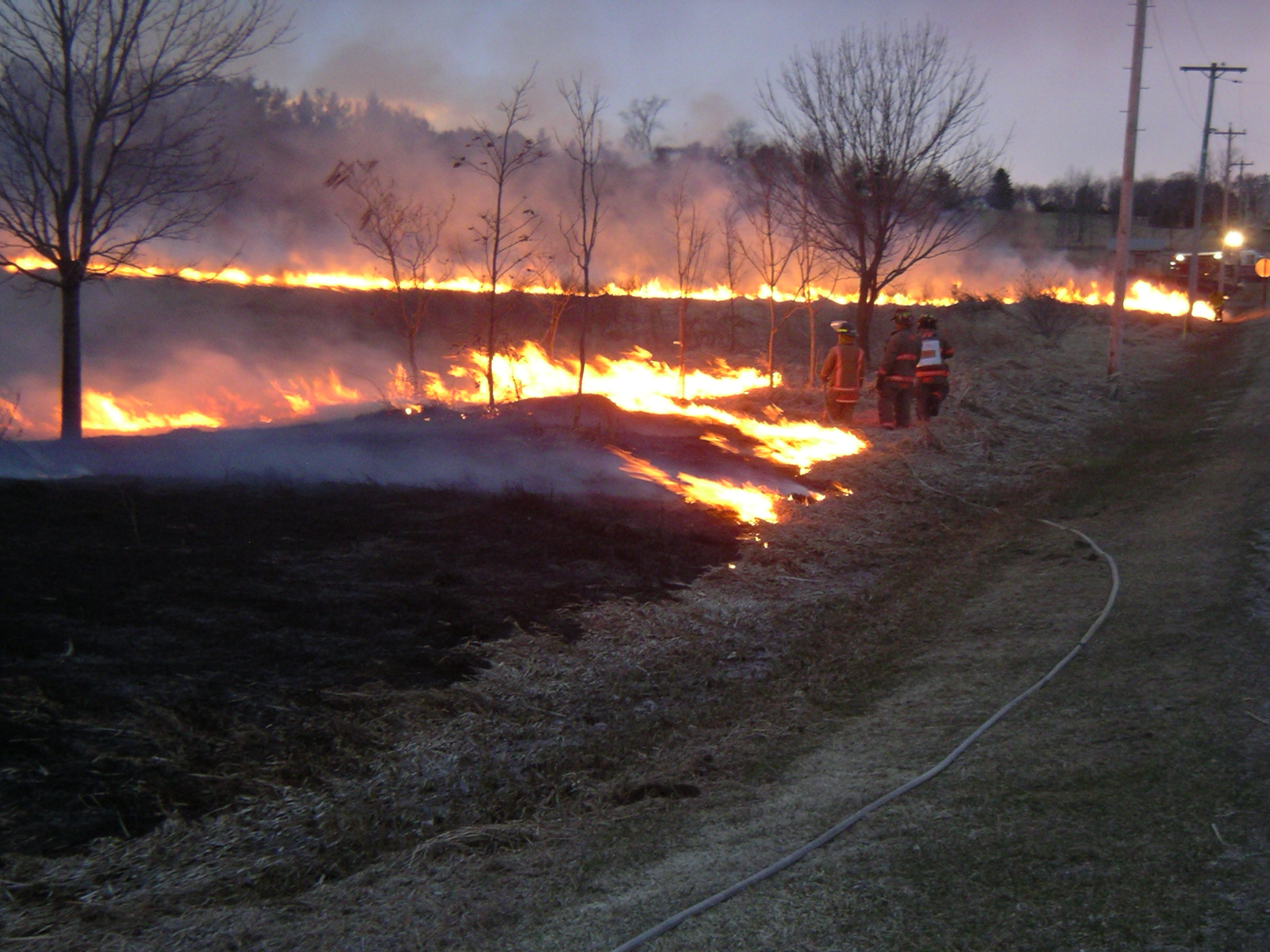 Grass Fire Training